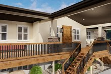 Dream House Plan - Ranch Exterior - Outdoor Living Plan #1060-21