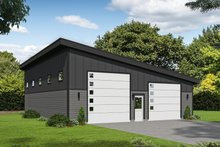 Contemporary Exterior - Front Elevation Plan #932-210