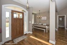 Architectural House Design - Craftsman Interior - Entry Plan #929-428