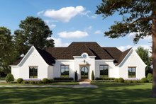 Home Plan - Southern Exterior - Front Elevation Plan #1074-8
