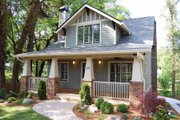 Craftsman Style House Plan - 4 Beds 3 Baths 2268 Sq/Ft Plan #461-48 Photo