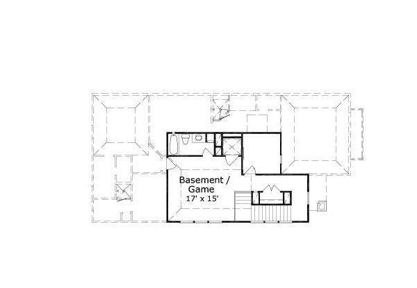 European Floor Plan - Other Floor Plan #411-650