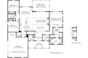 Ranch Style House Plan - 3 Beds 3.5 Baths 2030 Sq/Ft Plan #927-1017