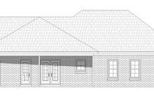 House Plan Design - Craftsman Exterior - Rear Elevation Plan #932-202