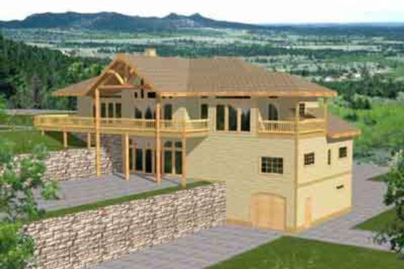 Bungalow Exterior - Front Elevation Plan #117-290
