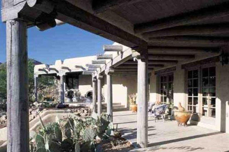 Adobe / Southwestern Photo Plan #72-176 - Houseplans.com