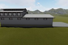 Dream House Plan - Farmhouse Exterior - Other Elevation Plan #1060-80