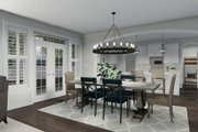 Craftsman Style House Plan - 4 Beds 2.5 Baths 2473 Sq/Ft Plan #1060-57 Interior - Dining Room