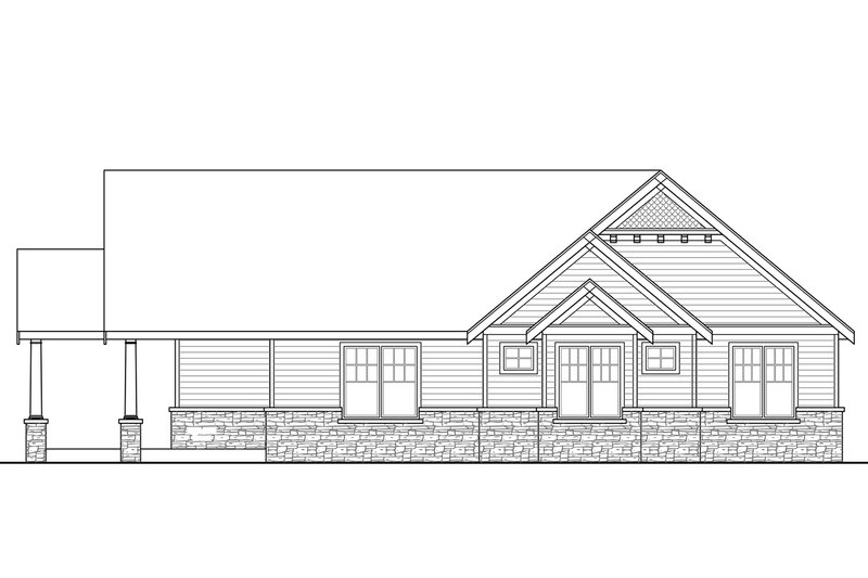 Country Exterior - Other Elevation Plan #124-967 - Houseplans.com