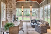 Country Style House Plan - 4 Beds 4.5 Baths 3466 Sq/Ft Plan #928-337 Exterior - Outdoor Living