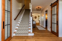 House Plan Design - Entry Stairs