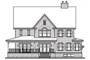 Farmhouse Style House Plan - 4 Beds 4.5 Baths 3621 Sq/Ft Plan #23-669 Exterior - Rear Elevation