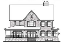 Farmhouse Exterior - Rear Elevation Plan #23-669