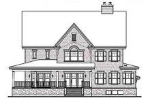 Dream House Plan - Farmhouse Exterior - Rear Elevation Plan #23-669