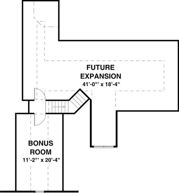 Craftsman Floor Plan - Other Floor Plan #56-628