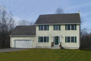 Colonial Style House Plan - 3 Beds 2.5 Baths 1851 Sq/Ft Plan #75-110