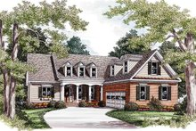 Dream House Plan - Country Exterior - Front Elevation Plan #927-16