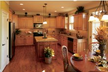 House Design - Country Interior - Kitchen Plan #927-9