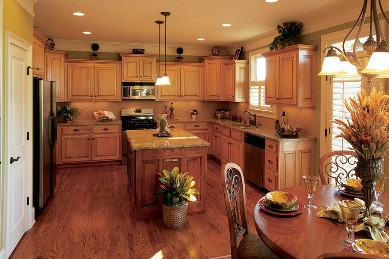 Country Interior - Kitchen Plan #927-9 - Houseplans.com