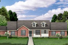 Home Plan - Ranch Exterior - Front Elevation Plan #84-459