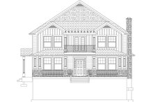 Farmhouse Exterior - Front Elevation Plan #1060-44