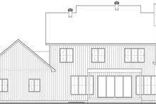 House Design - Farmhouse Exterior - Rear Elevation Plan #23-2735