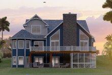 House Plan Design - Craftsman Exterior - Rear Elevation Plan #1064-11