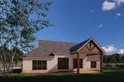 Traditional Style House Plan - 3 Beds 2 Baths 2382 Sq/Ft Plan #923-176 Exterior - Rear Elevation