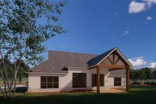 Home Plan Design - Traditional Exterior - Rear Elevation Plan #923-176