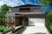 Modern Style House Plan - 4 Beds 2.5 Baths 3548 Sq/Ft Plan #496-11 Photo