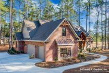 Architectural House Design - Ranch Exterior - Other Elevation Plan #929-1005
