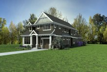 Craftsman Exterior - Other Elevation Plan #48-1007