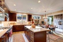 Contemporary Interior - Kitchen Plan #569-35