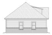 Craftsman Style House Plan - 2 Beds 2 Baths 1228 Sq/Ft Plan #932-26 Exterior - Other Elevation