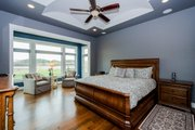 Ranch Style House Plan - 4 Beds 4 Baths 2609 Sq/Ft Plan #70-1501 Interior - Master Bedroom