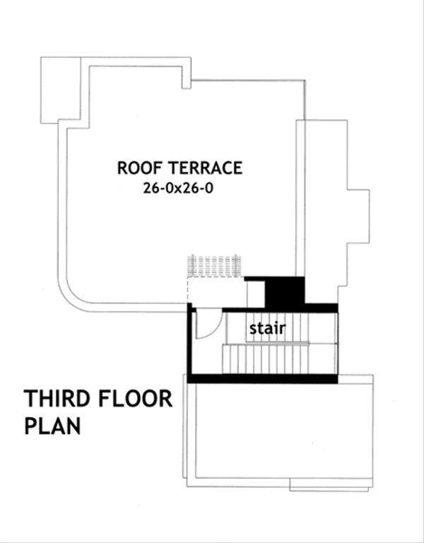 Modern Floor Plan - Other Floor Plan Plan #120-169