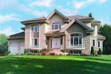 Dream House Plan - European Exterior - Front Elevation Plan #23-344