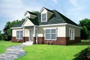 Cottage Style House Plan - 2 Beds 1 Baths 1000 Sq/Ft Plan #100-403