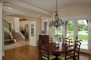 Country Style House Plan - 4 Beds 4.5 Baths 5008 Sq/Ft Plan #928-265 Interior - Dining Room