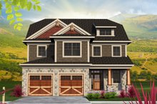 Traditional Exterior - Front Elevation Plan #70-1201