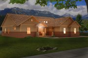 Craftsman Style House Plan - 4 Beds 3 Baths 2512 Sq/Ft Plan #932-281 Exterior - Front Elevation
