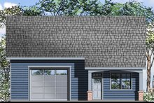 Dream House Plan - Craftsman Exterior - Front Elevation Plan #124-1072