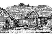 Colonial Style House Plan - 4 Beds 3 Baths 2900 Sq/Ft Plan #310-712 Exterior - Front Elevation