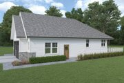 Craftsman Style House Plan - 3 Beds 2 Baths 1913 Sq/Ft Plan #1070-109 Exterior - Other Elevation