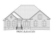House Plan Design - Traditional Exterior - Front Elevation Plan #1054-86