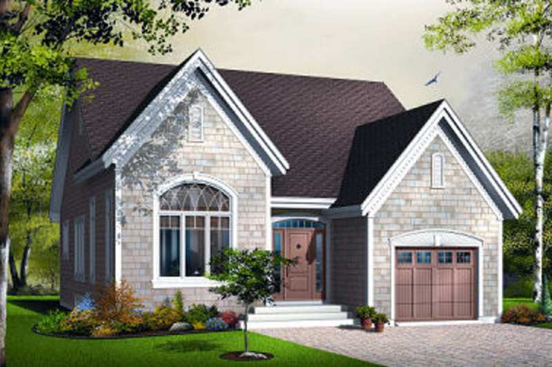 Traditional Exterior - Front Elevation Plan #23-786 - Houseplans.com