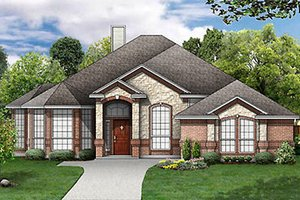 Traditional Exterior - Front Elevation Plan #84-248