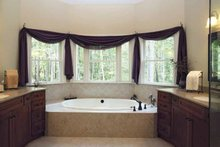 Dream House Plan - Traditional Interior - Master Bathroom Plan #56-541
