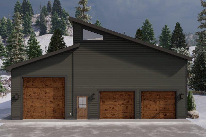 Home Plan - Modern Exterior - Front Elevation Plan #1060-117