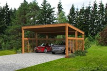 Architectural House Design - European Exterior - Front Elevation Plan #932-378